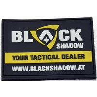 Black Shadow Patch 3D PVC